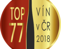 Pozvání do 20. ročníku TOP 77 vín v ČR 2018